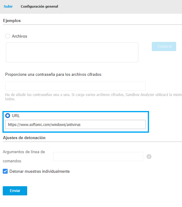 Comprobar una URL comprometida #1